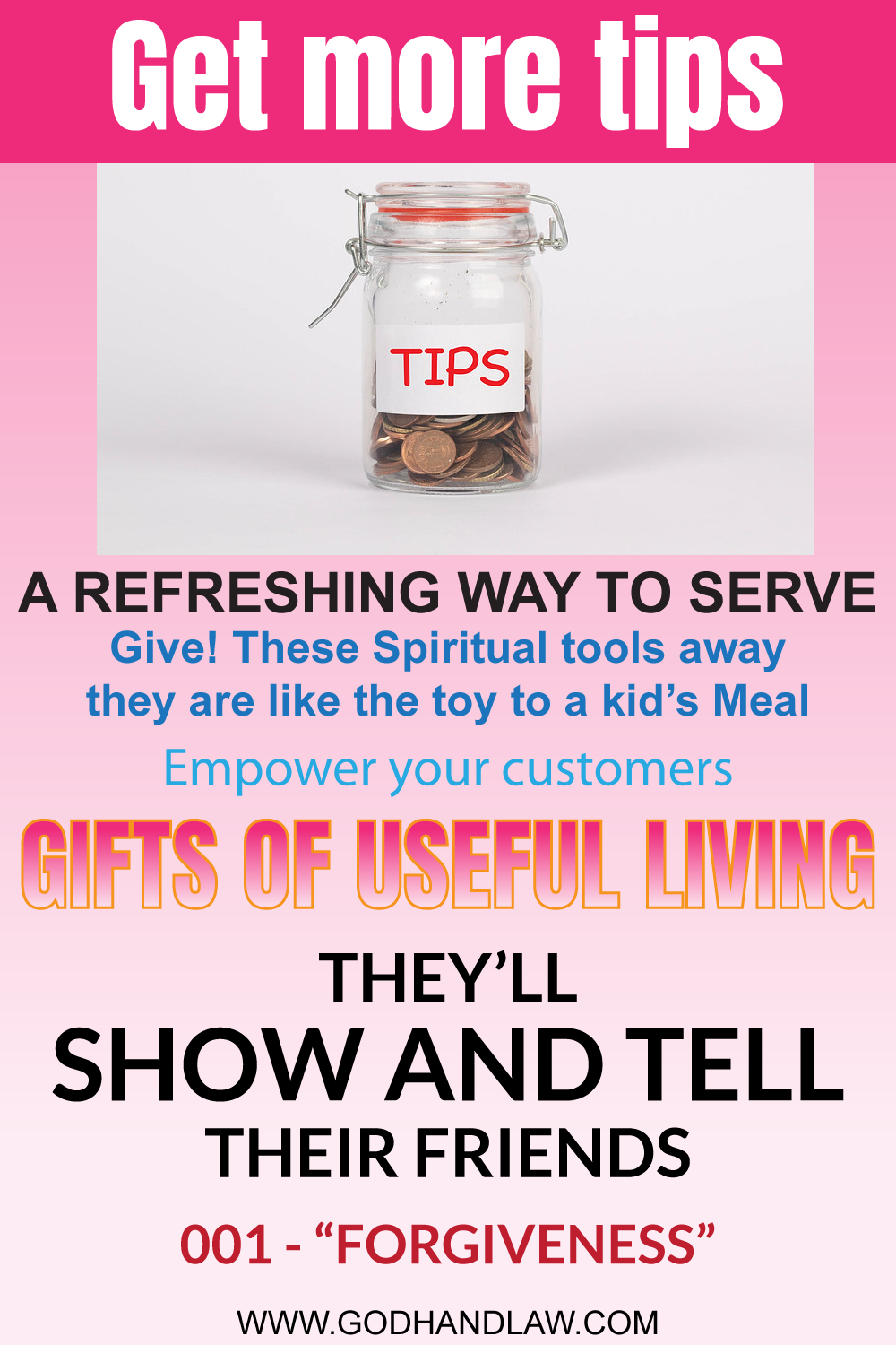 gifts of useful living - 001 - forgivenmess