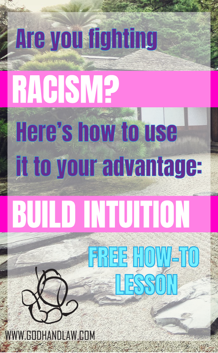 BUILD INTUTION WHEN RACISM HAPPENS - THINK AND GROW RICH