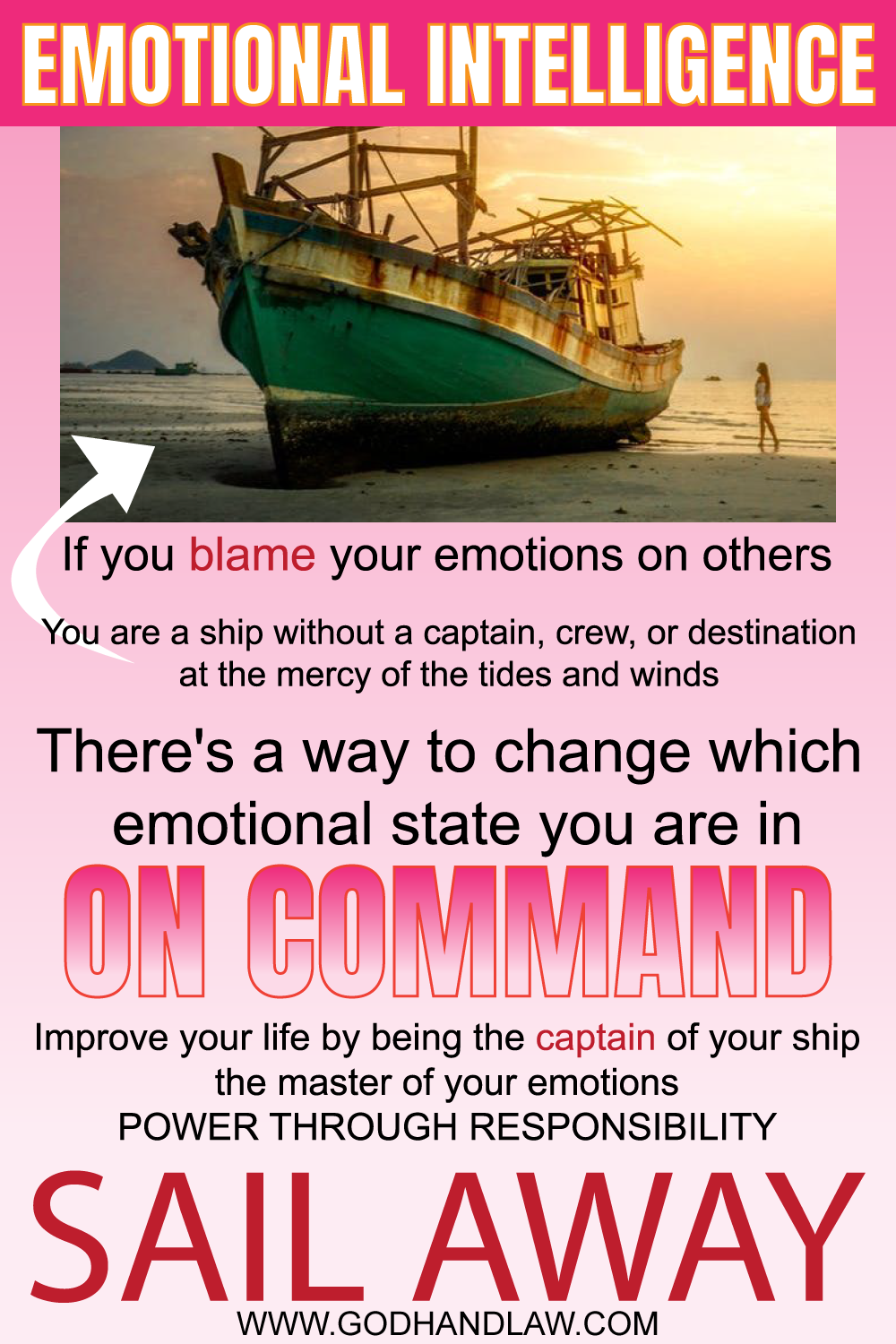 EMOTIONAL INTELLIGENCE CHANGE STATE ON COMMAND CAPTAIN OF YOUR SHIP EMOTIONAL MATURITY