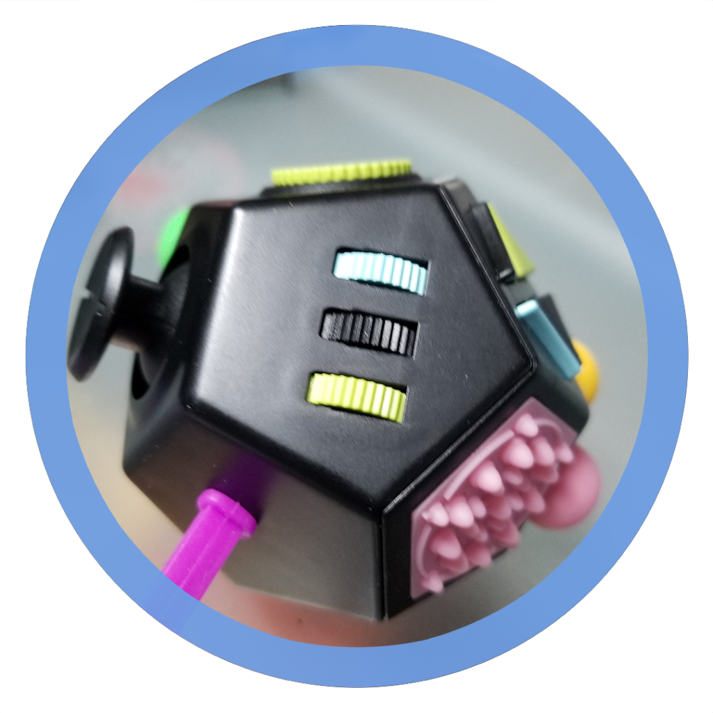 12 sided fidget cube - Gears