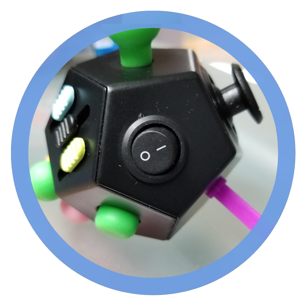 12 sided fidget cube - Switch