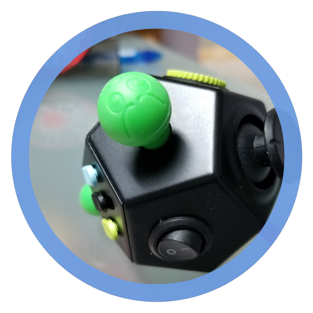 12 sided fidget cube - Silicone Ball