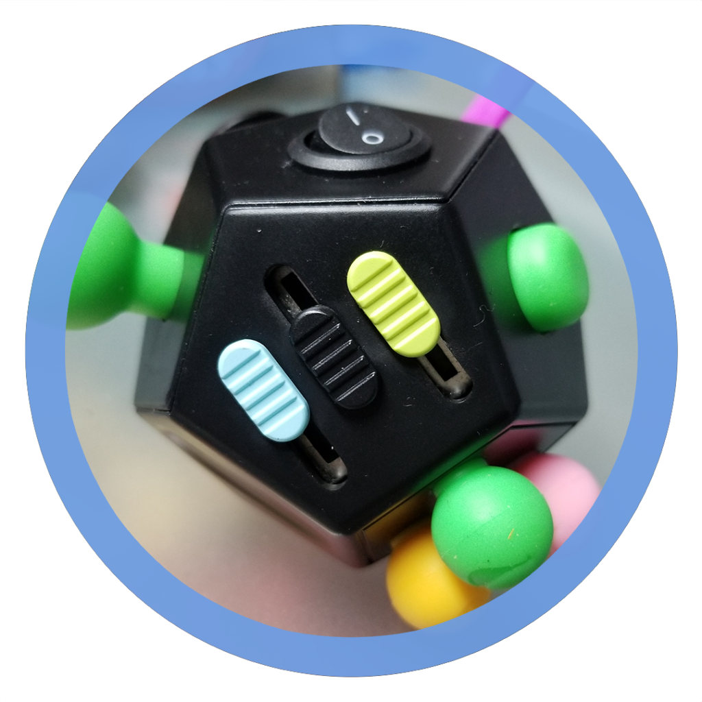 12 sided fidget cube - Sliding Block