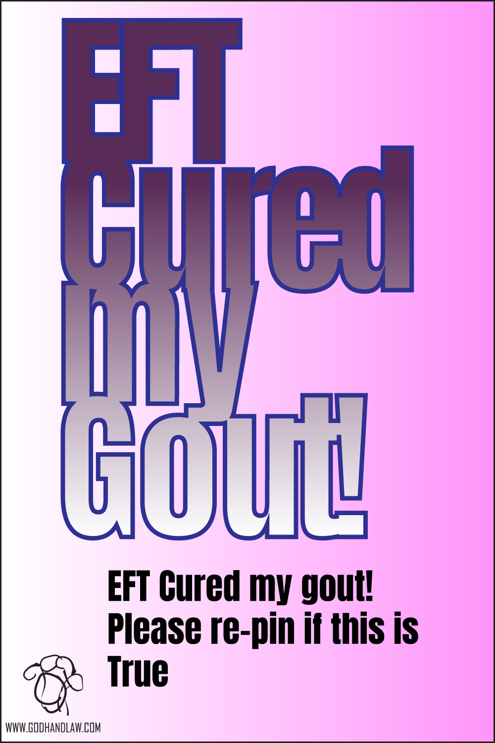 eft cured my gout