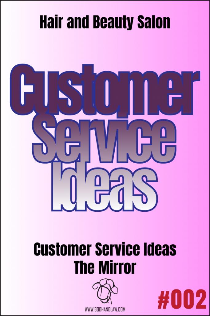 beauty salon customer service ideas